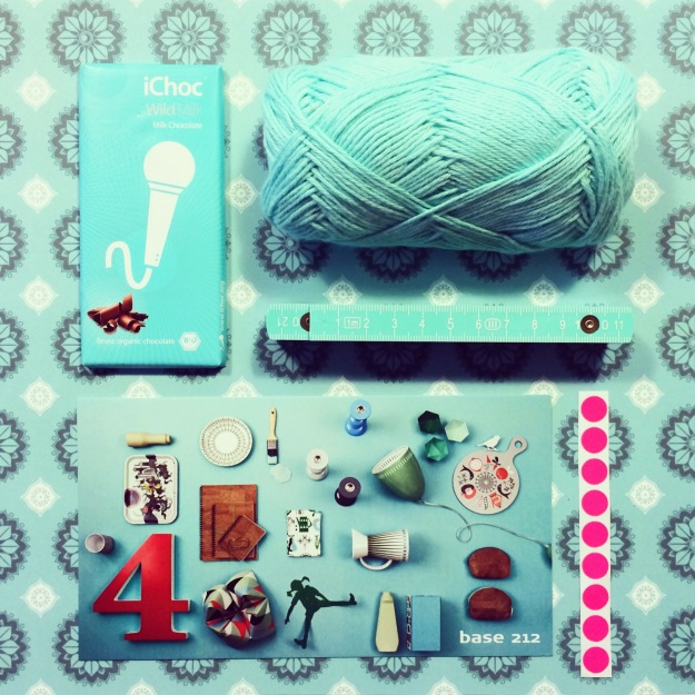365 mood boards in 2014. Mood board #69: Turquoise thoughts. Smashup. Instagram filter Valencia. Photographer: Susanne Randers