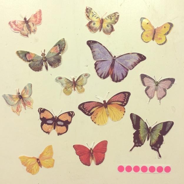 365 mood boards in 2014. Mood board #79: Getting ready to spread my wings. Smashup. Instagram filter Valencia. Photographer: Susanne Randers