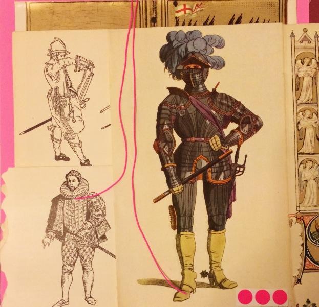 365 moodboards i 2014. Moodboard #85: De tre musketerer i kreaklubben. Smashup. Fotograf: Susanne Randers