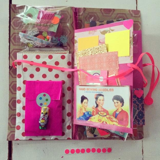 mitkrearum.dk kreativitet creativity 365 moodboards in 2014 112 Pink funky kitschy farveglæde lenabjoernskov Spred lidt farveglæde Instagram filter Valencia