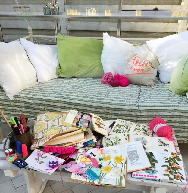 365 moodboards in 2014. Moodboard #115: Et bord fyldt med glæde og taknemmelighed. I mit drivhus. Fotograf: Susanne Randers