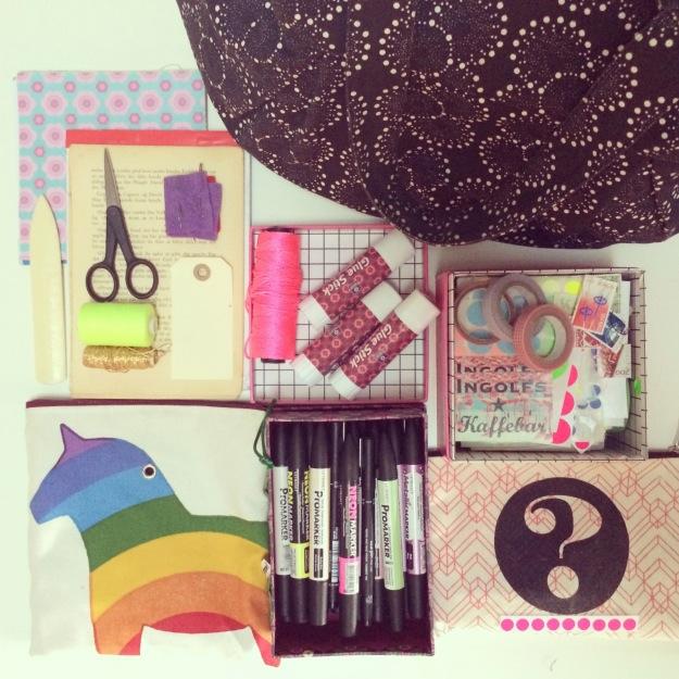mitkrearum.dk kreativitet creativity 365 moodboards in 2014 128 My creative bag to go Instagram filter Valencia