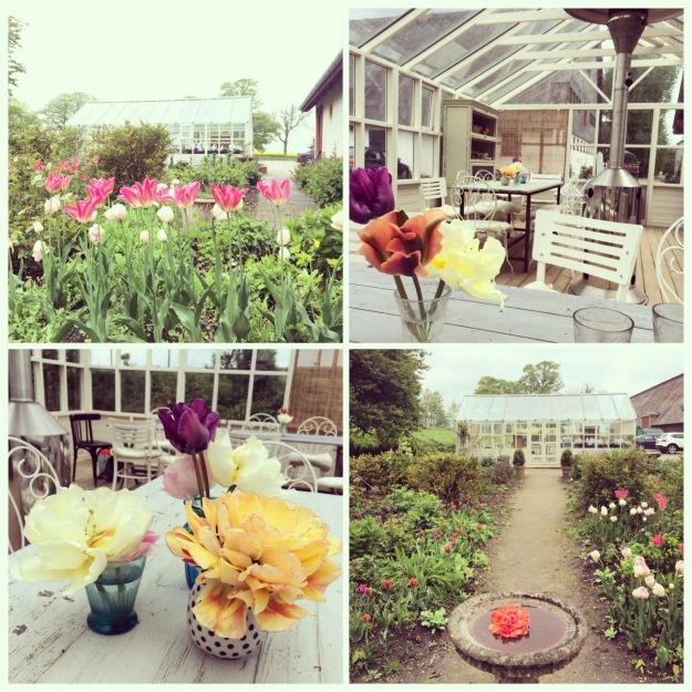 365 mood boards in 2014. Mood board #131: Happy Mothers Day. Tulip leaves Heart Mandala. Isabella Smith's beautiful orangery and garden. Instagram filter Valencia. Photographer: Susanne Randers