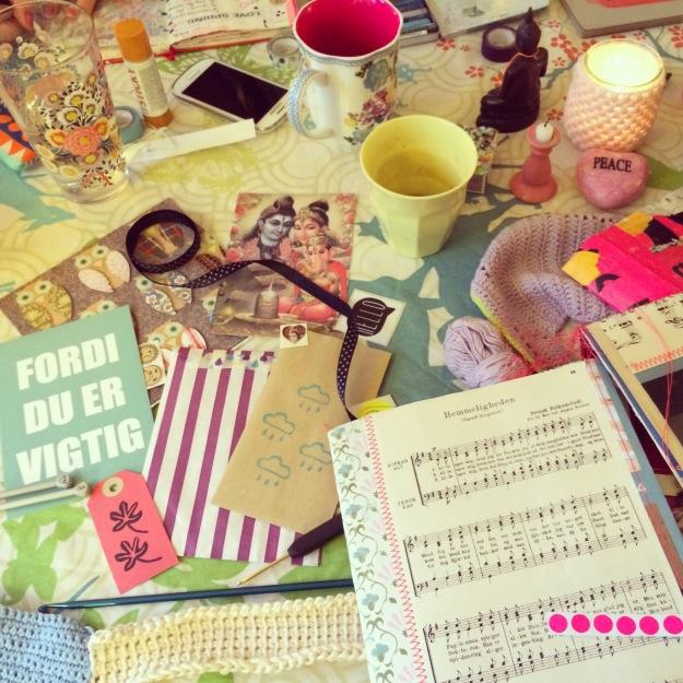365 mood boards in 2014. Mood board #134: The essence of my Creative Gatherings. Instagram filter Valencia. Photographer: Susanne Randers
