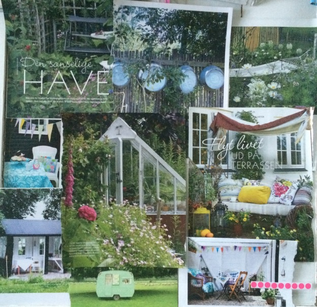 365 moodboards in 2014. Moodboard #140: Haverum og havedrømme. Collage. Fotograf: Susanne Randers