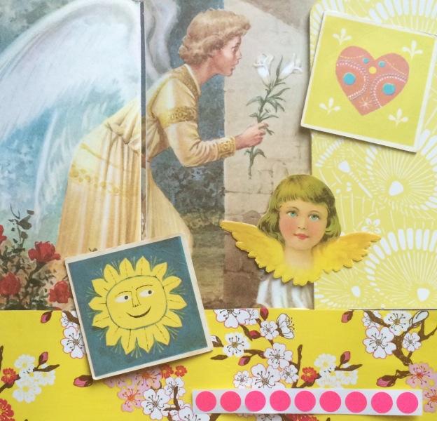 365 moodboards in 2014. Moodboard #145: Sender dig en engel med lys og kærlighed. Fotograf: Susanne Randers