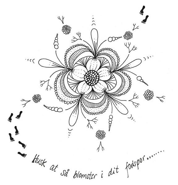 citater om blomster Fra doodle til serigrafisk tryk | Mit krearum [my creative space] citater om blomster